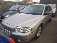 STUNNING 2004 VOLVO S80 2.5 MANUAL LOW MILE AGE ONLY 78K PX WELCOME MORE CARS IN STOCK