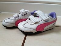 PUMA Girls Shoes Trainers Size 8