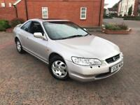 1999/S HONDA ACCORD 2.0 ES COUPE 1 FORMER KEEPER SERVICE HISTORY