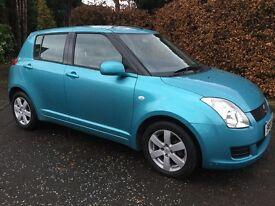 2009 Suzuki Swift 5 Door,Rare colour,Low Miles Full History