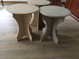 3 Display tables