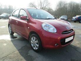 2011 61 reg Automatic Nissan Micra 1.2 , Satnav , bluetooth only 25,000 miles £30 tax fsh full mot
