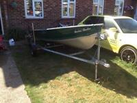 Aluminium boat 12ft