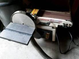 Axminster belt / disc sander combination ( Still available)