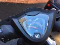 Extremely low mileage Honda Vision 49cc moped, as new (PRICE REDUCED)