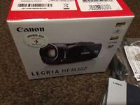 Canon LEGRIA HF M307 High Definition Digital Camcorder - Black (15 x Optical Zoom, 2.7-Inch Tochscre