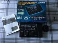 Boss ME 25 Guitar multi effects