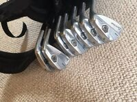 Taylormade Tour Preferred (TP) MB Forged Irons 4-PW Stiff Good Condition ***FREE TITLEIST BAG***