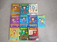 Daisy and the trouble with .. 10 Book Bundle for kids by Kes Gray