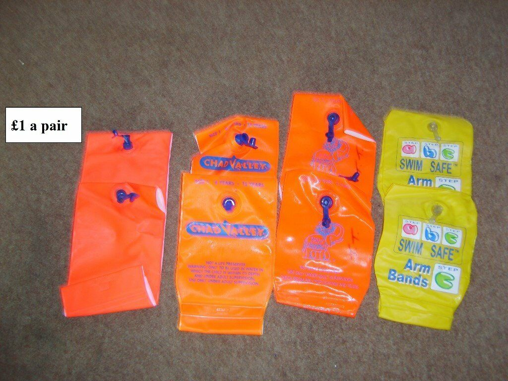 arm bands 6-12 years £3.50 for the lot new set price on pic