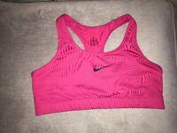 Nike Dri fit pink women's sports bra XL