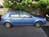 Chevrolet Lacetti 2005 - 88,765 Mileage - £550 ono