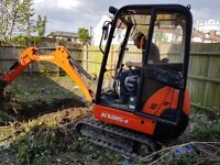 Mini digger hire wembley london . available at any time