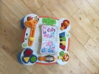 LEAPFROG LEARN AND MUSICAL ACTIVITY TABLE IN ENGLISH AND FRENCH