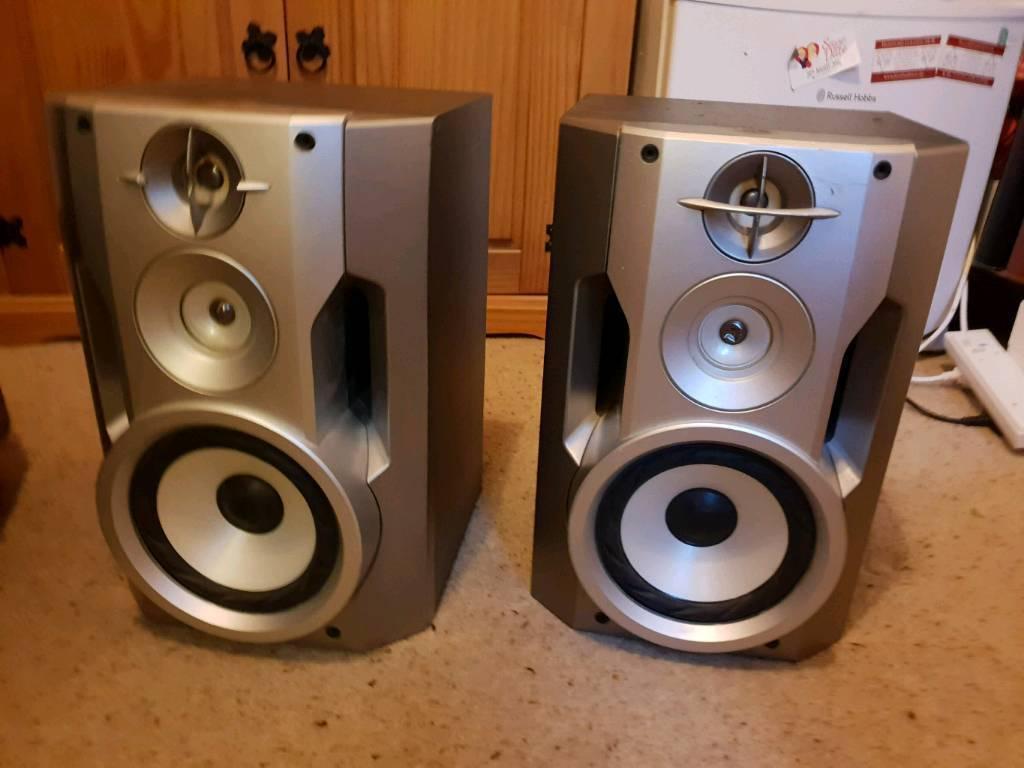 Sony Bookshelf Stereo Speakers
