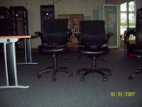 Ergonomic Mesh Back Office Swivel Chairs.