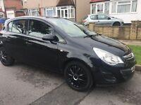 Black Vauxhall corsa for sale
