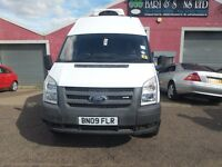 FORD TRANSIT T350 LWB FRIDGE/FREEZER/CHILLER (Hubbard) 2009 NO VAT