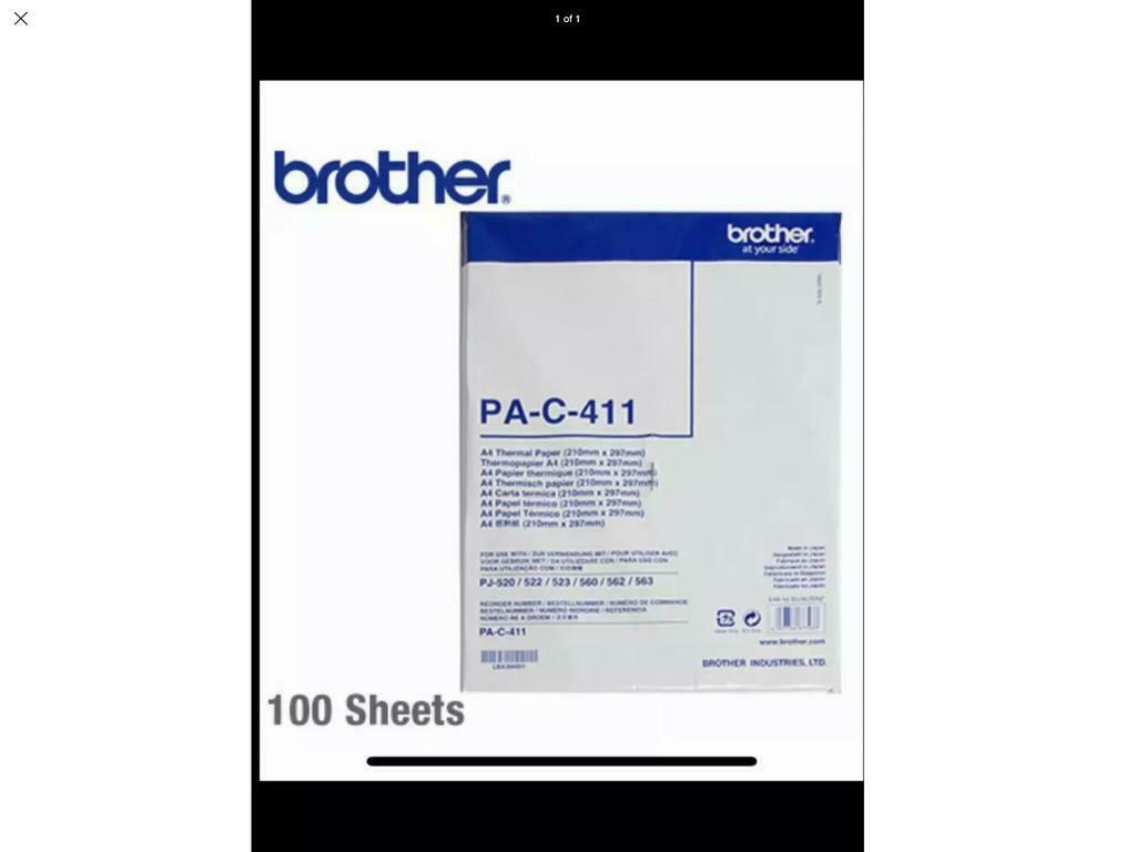 Brother thermal printer paper - 100 sheet | in Aberdeenshire | Gumtree