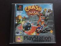 PlayStation 1 game, crash bandicoot retro game. Ps1