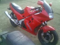 Honda VFR 750 motorcycle for spares or repair.