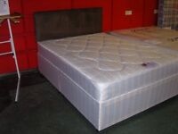 Double Divan Bed. Brand New in Wrapping. Dreamers Candy Orthopaedic Divan Bed. Base & Mattress
