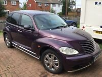 For sale 2004 diesel PT Cruiser purple with chrome pack