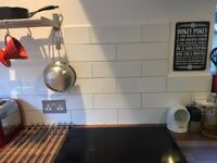 White Gloss Kitchen/Bathroom Wall Tiles