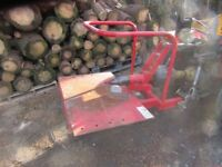 Cone / Hycrack log splitter logsplitter wood splitter run by pto tractor