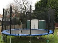 14ft Trampoline 6 months old