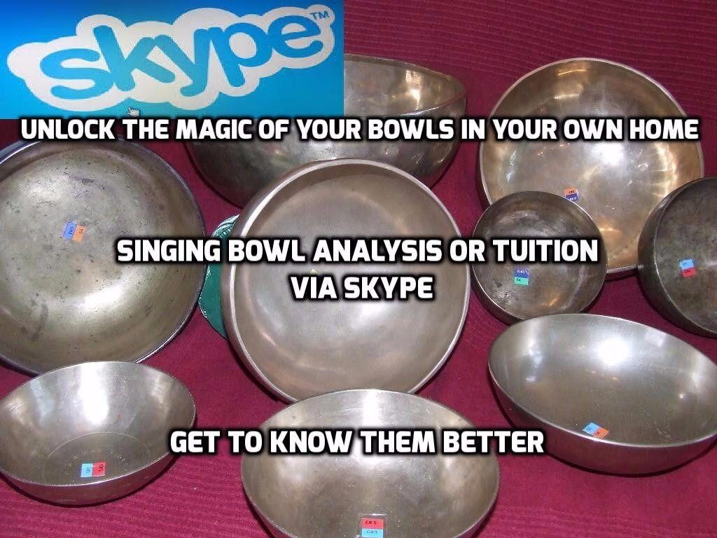 Sing bowl lessons