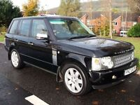 RANGE ROVER VOGUE TD6 AUTO *HUGE SPEC* FSH LIKE BMW X5 MERCEDES ML DISCOVERY TOUAREG XC90 SHOGUN A6