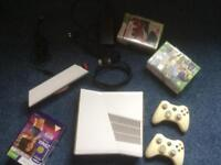 Xbox 360 with Kinect & 2 Controllers
