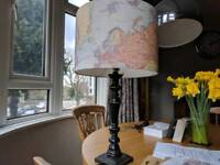 Map stuff for sale gumtree world map lampshade and laura ashley lamp stand gumiabroncs Gallery