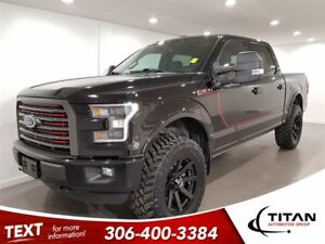 2016 Ford F-150 FX4 Lariat Supercrew|Cam|Nav|Leather|Sunroof