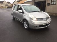 BARGAIN 2008 NISSAN NOTE DIESEL DCI LONG MOT FULL SERVICE HISTORY PX WELCOME £1095
