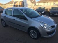 07 Renault Clio Expression 5 door hatchback. New MOT. Absolutely immaculate.