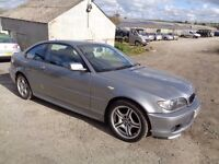 2005 BMW 318CI MSPORT 3 DOOR COUPE GREY 12 MONTHS M.O.T