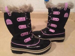 Girls Size 6 Sorel Waterproof Winter Boots