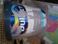 UNUSED 2.5 LITRE OF DULUX PAINT IN NEW COLOUR - HEARTWOOD