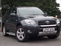 TOYOTA RAV4 XT4 FULLY AUTOMATIC, LOW MILEAGE 40,000 FULL SERVICE HISTORY, FULL LEATHER INTERIOR