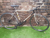 1989 RALEIGH MEDALE, Custom Fixie, Flip Flop Track Wheels, VGC! SERVICED & WORKING