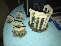 Various Aquarium Decorations for Sale, individually or job lot, open to offers