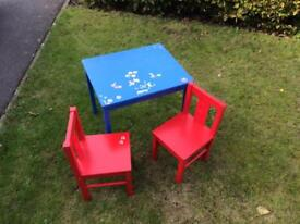 Ikea Kritter table and chairs