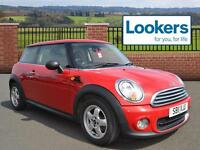 MINI Hatch ONE (red) 2011-06-25