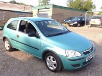 VAUXHALL CORSA 1.0 LIFE 3DOOR,HPI CLEAR,ALLOY WHEELS,49K MILLEAGE,1 YEAR M.O.T