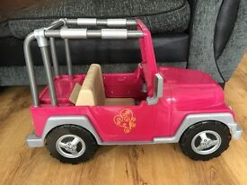 Our Generation Doll 4x4 Jeep