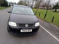 VOLKSWAGON TOURAN 1.9 TDI IN GOOD CONDITION @ 07896137985