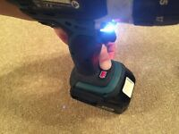 Makita DHP 458 Combi Drill LXT 18 Volt Top of Range, 3.0Ah Li-ion Battery (not DeWalt)