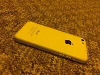 iPhone 5c yellow - excellent condition & unlocked